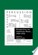 Perspectives on American Music, 1900-1950 Free download PDF and Read online