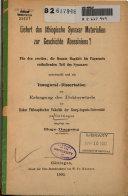 Liefert das äthiopische Synaxar materialien zur geschichte Abessiniens?