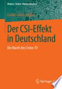 Der CSI-Effekt in Deutschland