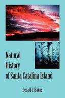Natural History of Santa Catalina Island