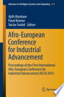 Afro European Conference For Industrial Advancement