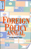 Foreign Policy Annual, 2001-2009: Documents
