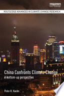 China Confronts Climate Change : stabilize the global climate at conditions...