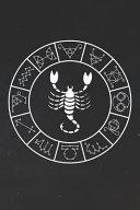 Scorpio Notebook Zodiac Circle Zodiac Diary Horoscope Journal Scorpio Gifts For Her