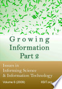 Growing Information  Part 2