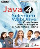 Java 4 Selenium Webdriver
