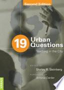 19 Urban Questions