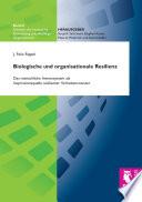 Biologische und organisationale Resilienz