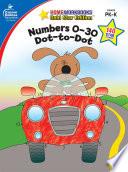 Numbers 0 30  Dot to Dot  Grades PK   K