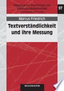 Textverständlichkeit und ihre Messung