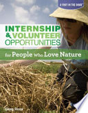 internship and volunteer opportunities for people who love nature