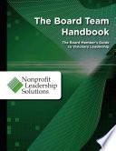 The Board Team Handbook