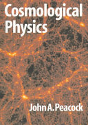 Cosmological Physics