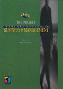 Pocket International Encyclopedia of Business and Management
