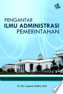 Pengantar Ilmu Administrasi Pemerintahan
