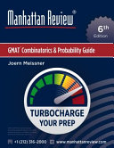 Manhattan Review GMAT Combinatorics and Probability Guide  6th Edition