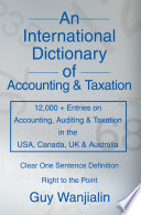 An International Dictionary of Accounting and Taxation