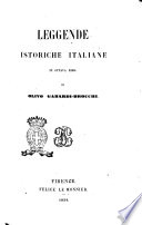 Leggende istoriche italiane in ottava rima di Olivo Gabardi-Brocchi