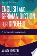 English and German Diction for Singers