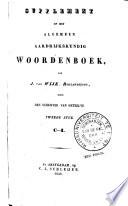 Algemeen aardrijkskundig woordenboek