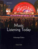 Music Listening Today  Advantage Edition