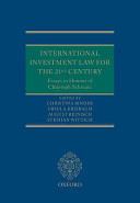 International Investment Law for the 21st Century