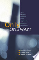 Only One Way  book