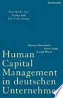 Human-Capital-Management in deutschen Unternehmen