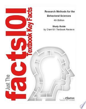 Research Methods for the Behavioral Sciences: Statistics, Statistics - ISBN:9781467208697