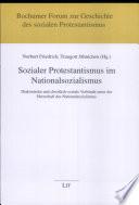 Sozialer Protestantismus im Nationalsozialismus