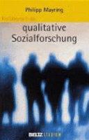Einf  hrung in die qualitative Sozialforschung