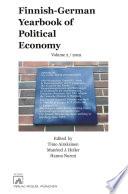 Finnish German Yearbook Of Political Economy Volume 2