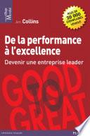 De La Performance à L'excellence : pour rejoindre le peloton de tête ? qu'est-ce...