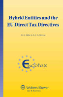 Hybrid Entities and the EU Direct Tax Directives