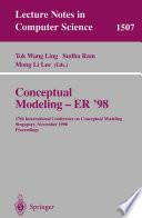 Conceptual Modeling - ER '98