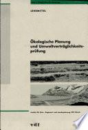 Ökologische Planung und Umweltverträglichkeitsprüfung