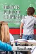 Mathematics in Middle and Secondary School