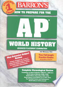 Barron s how to Prepare for the AP World History Examination