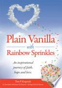 Plain Vanilla with Rainbow Sprinkles