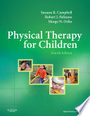 Physical Therapy for Children   E Book