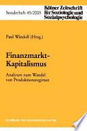 Finanzmarkt-Kapitalismus