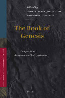 The Book of Genesis Offers Twenty Nine Essays On A Wide Range Of