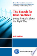 The Search For Best Practices