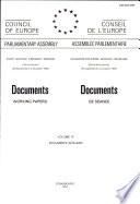 Documents (working Papers) 1991 = Documents de Séance 1991 ; Volume IV, Docs. 6276 - 6290.