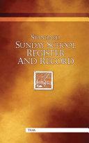 Standard Sunday School Register And Record