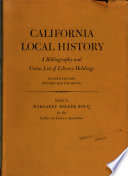 California Local History