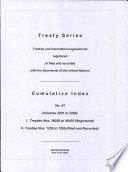 Treaty Series Cumulative Index 2201 2250