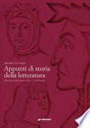 Appunti di storia della letteratura