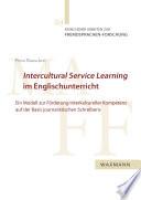 Intercultural Service Learning im Englischunterricht