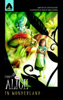 Alice In Wonderland : little girl falls down a...